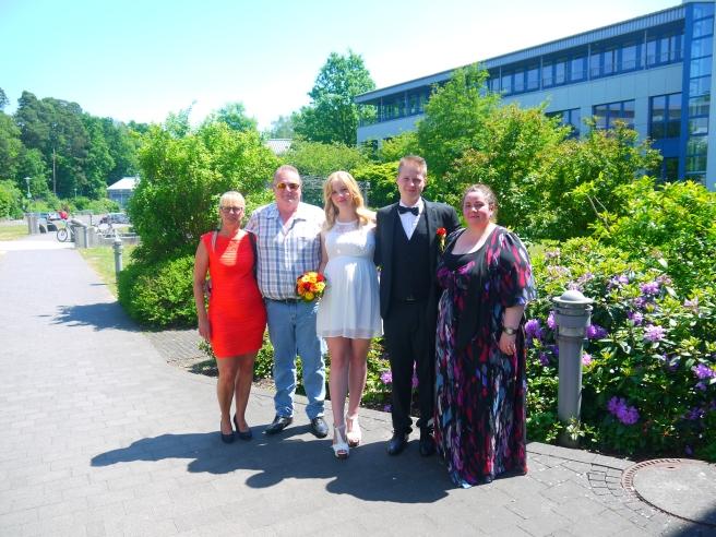 Schwiegermama Inge, Schwiegerpapa Helmut und Mama